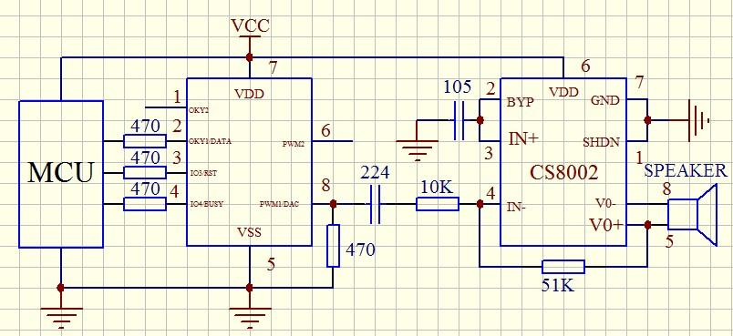 sc020g接外部功放sc8002参考电路